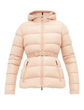 Rhin Lacquered Quilted Down Jacket by Moncler