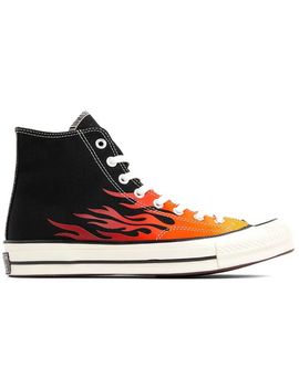 Converse Chuck Taylor All Star 70s Hi Archive Print Flames by Stock X