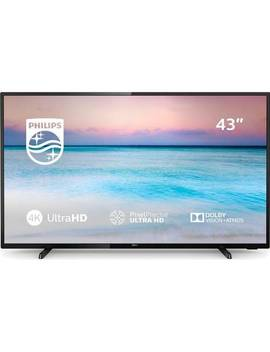 Philips 43 Inch 43 Pus6504 Smart 4 K Hdr Led Tv913/3198 by Argos