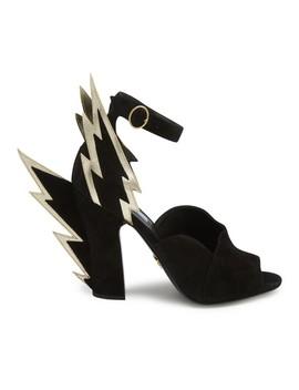Lightning Sandals by Prada