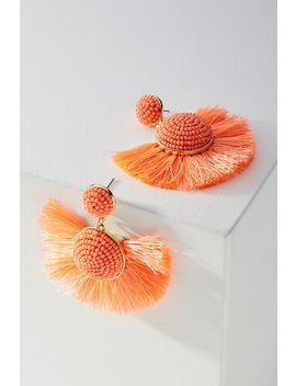 Bauble Bar Fringed Drop Earrings by Anthropologie
