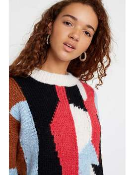 Uo Patchwork Jumper by Urban Outfitters
