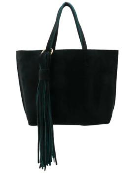 Tassel Detail Tote Bag by Alila
