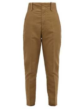 Pantalon Fuselé En Coton Goah by Isabel Marant Étoile