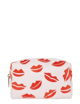 Pink Lips Makeup Bag by Skinnydip