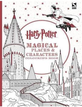 Harry Potter Magical Places And Characters Colouring Book by J. K. Rowling