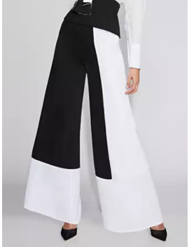 Colorblock Wide Leg Pant   Gabrielle Union Collection by New York & Company
