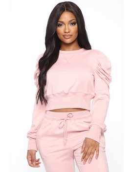 Cute And Comfy Top   Pink by Fashion Nova