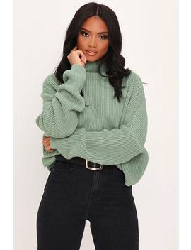 Sage Slouchy Jumper by I Saw It First
