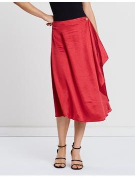 Zara Satin Skirt by Atmos&Here