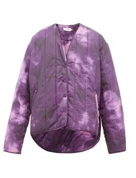 Tie Dye Print Padded Jacket by Marques'almeida