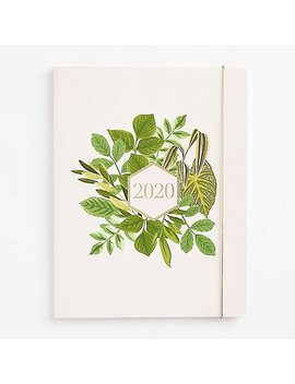 2019 2020 Foliage Frame Monthly Planner by Paper Source