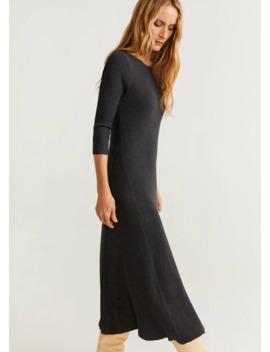 Φόρεμα Midi λάστιχο by Mango