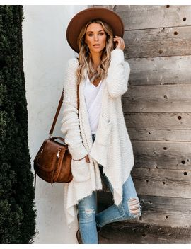 Preorder   Spread Your Wings Pocketed Cardigan   Cream by Vici
