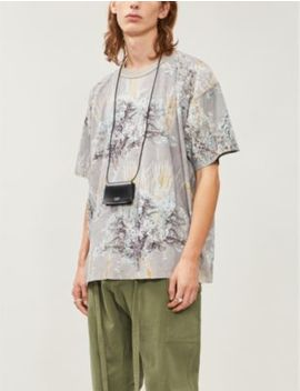 Graphic Print Cotton Jersey T Shirt by Fear Of God