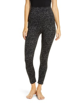 Leopard Print High Waist Leggings by Socialite