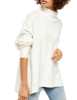 Afterglow Mock Neck Sweater by Free People