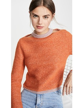 Alpaca Clavicle Sweater by Eckhaus Latta