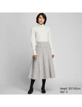 SoufflÉ Yarn Flare Skirt by Uniqlo
