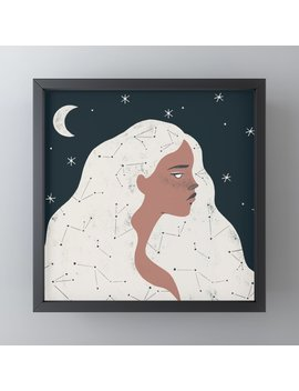 Keeper Of Stars Framed Mini Art Print by Society6