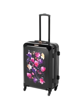 Floral Garden Suitcase 67cm by B&M