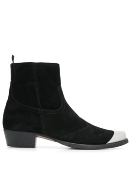 Metal Toe Ankle Boots by Represent