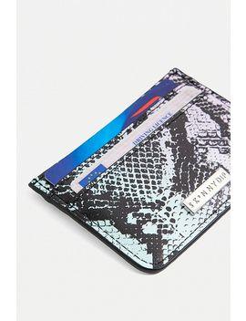 Skinnydip Ombre Snake Cardholder Wallet by Skinnydip