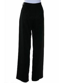 Emporio Armani Hose L Schwarz Damen Pants Pantalons by Ebay Seller