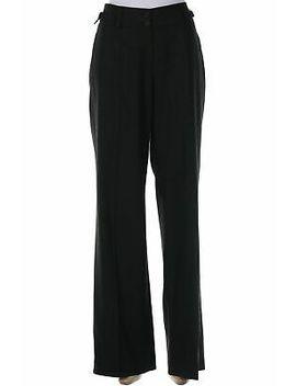 RenÉ Lezard Hose Aus Schurwolle D 40 Anthrazit Damen Pants Pantalons by Ebay Seller