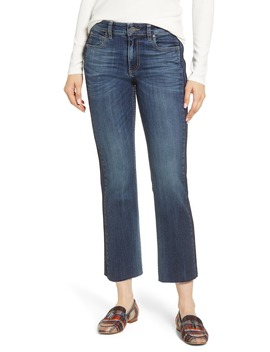 Side Inset Ankle Flare Jeans by Kut From The Kloth