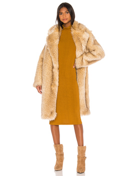 Gallega Faux Fur Coat by Iro