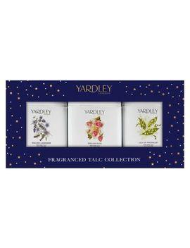 Yardley Fragranced Talc Selection by Yardley