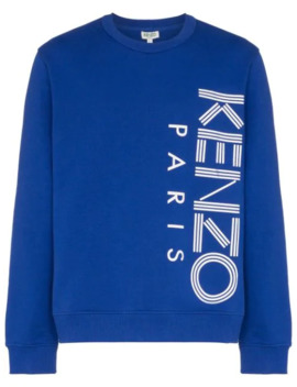Graphic Logo Sweatshirt by Kenzo