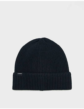 1x1 Rib Beanie In Black by Saturdays Nyc Saturdays Nyc