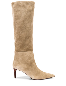 Long Island Heeled Boot by Hazy