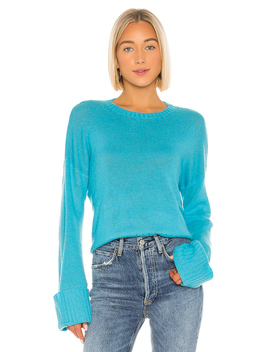 Cuffed Crew Sweater by Autumn Cashmere