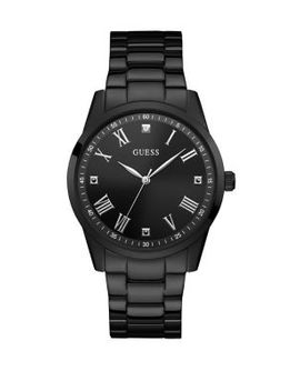 Stainless Steel & Diamond Bracelet Watch by Guess