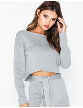 Drop Shoulder Long Sleeve Top by Missguided