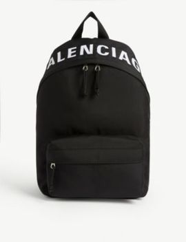 Wheel Woven Backpack by Balenciaga