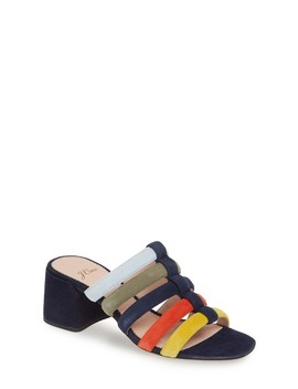 Penny Strappy Suede Slide Sandal by J. Crew