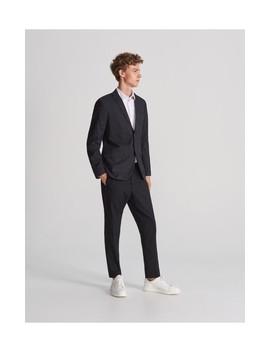 Spodnie Z Elastyczna Tasma by Reserved