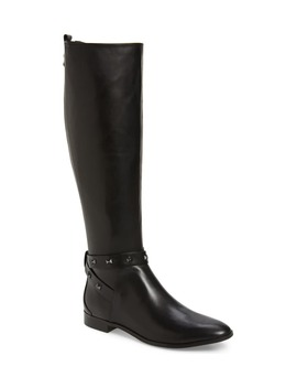 Plannia Bow Hardware Knee High Riding Boot by Ted Baker London