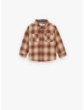 Vintage Check Shirt by Zara