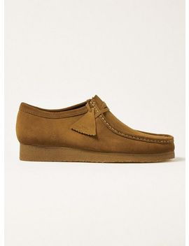 Clarks Brown Suede Wallabee Shoes by Topman