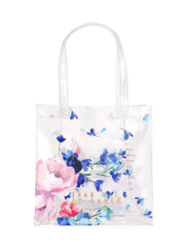 Yunicon Clear Floral Tote by Ted Baker London