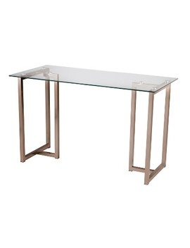 Haxor Writing Desk Champagne   Holly & Martin by Holly & Martin