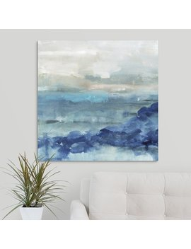 'sea Swell I' Painting On Canvas by Highland Dunes