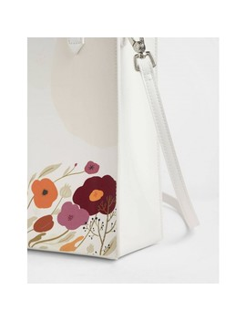 Charles & Keith By Oamul Lu: Floral Illustration Tote Bag by Charles & Keith