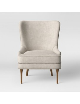 Cheswold Wingback Chair Beige   Threshold™ by Threshold