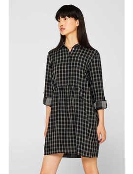 Hemdblusen Kleid, 100% Baumwolle by Esprit
